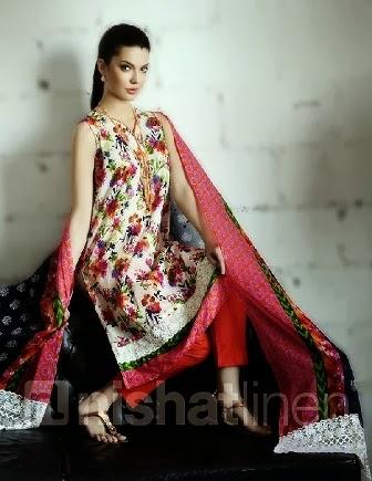 Nishat Linen Summer Lawn Salwar Kameez