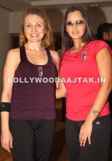 Sania Mirza 1 - Sania Mirza at Launch of adidas fitness training