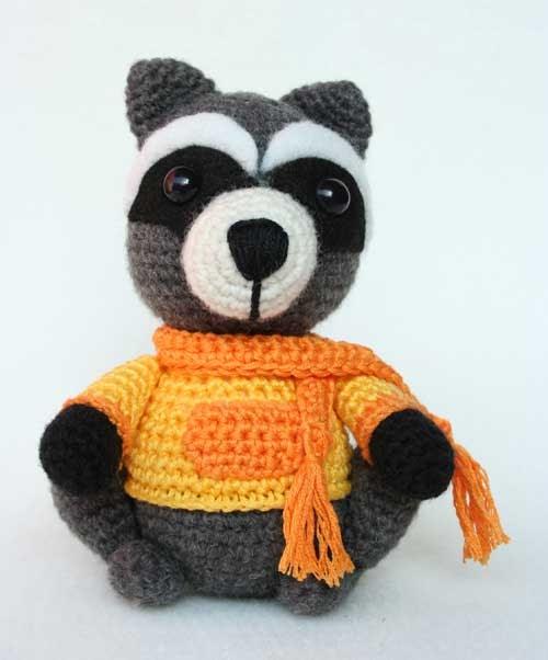 Amigurumi Raccoon Pattern Free : Procione amigurumi Hobby uncinetto