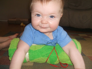 activities for babies, teach your baby to crawl
