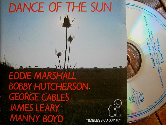 Eddie Marshall - Dance of the Sun on Timeless Records 1978