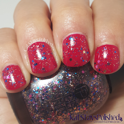 FingerPaints Tis the Season to Sparkle - Tinsel & Tidings | Kat Stays Polished