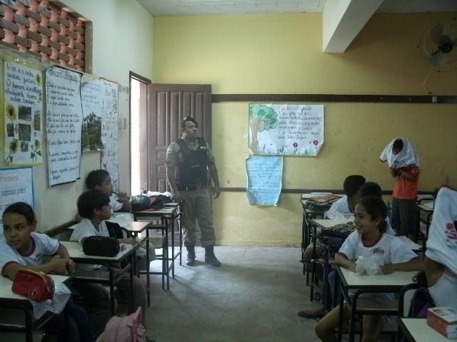 Aula PROERD - soldado Pinheiro
