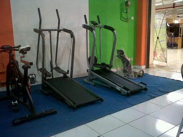 Jual  Treadmill Manual 3 fungsi termurah