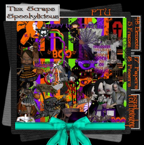 my newset kit spookylicious