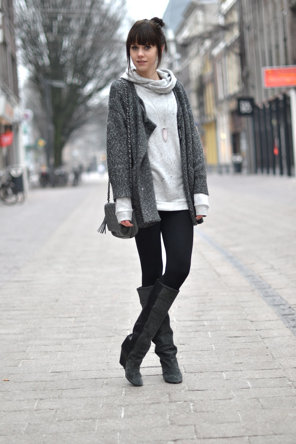 Outfit | Grey Tones U00ab Lovely By Lucy