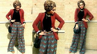 Kreasi Model Jilbab Pashmina Terbaru