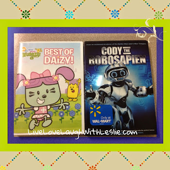 "♥""Best of Daizy"" and ""Cody The Robosapien"" DVDs {GIVEAWAY}"