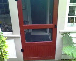 Custom Built Screen Door