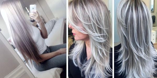 Grey ombre hair tumblr