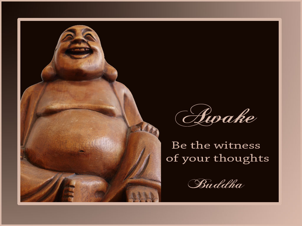 Inspirational Desktop Wallpaper: Happy Buddha Wallpaper - 8