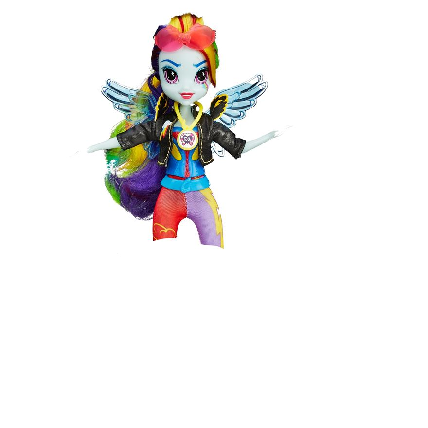 Sunset Shimmer And Rainbow Dash Sporty Style Deluxe Images Found Mlp Merch