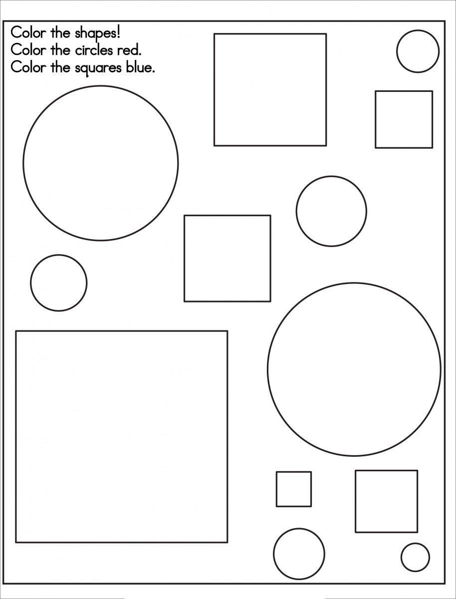 printable coloring pages coloring pages of shapes and numbers