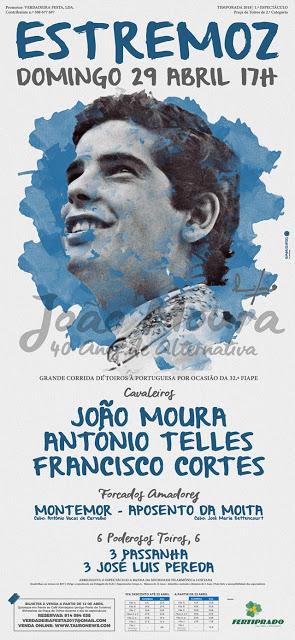 ESTREMOZ (PORTUGAL) 29-04-2018.CORRIDA A PORTUGUESA..