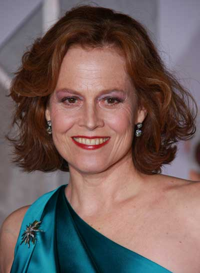 ... actress Sigourney Weaver, who portrays Elaine, disagrees.