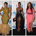 TOP FIVE CELEBRITIES DRESS @ 2012 GHANA MOVIE AWARDS