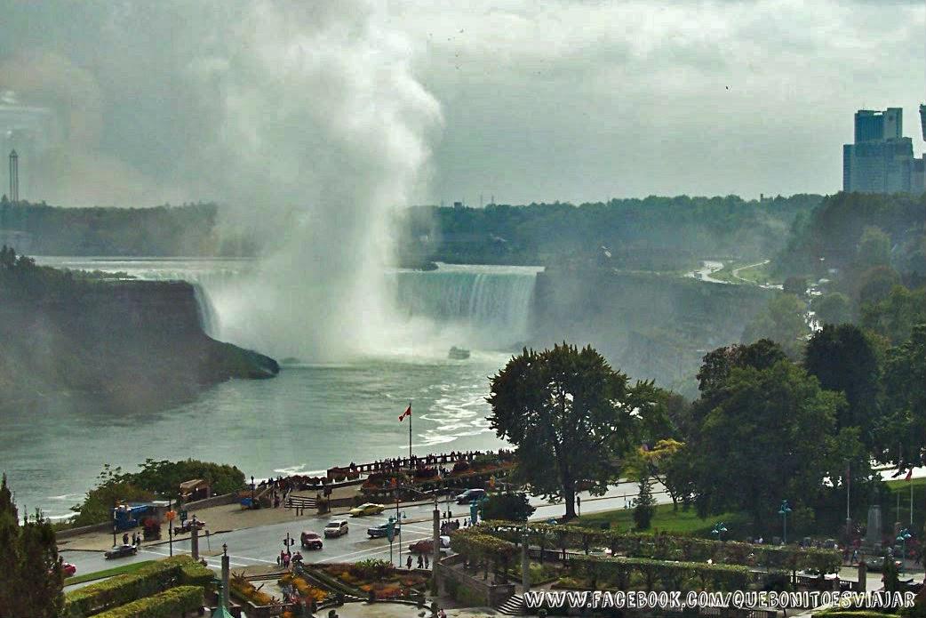 Cataratas Niágara desde Hotel Crowne Plaza Niagara Falls