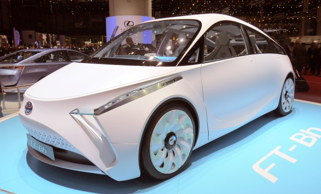 Toyota FT-Bh front