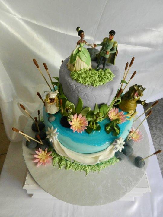 Princess Tiana Cake Images : Ally Sweet Creations : Princess Tiana Cake