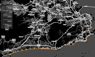 GPS route on Smashrun