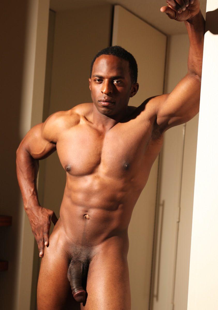 Naked hot black guys
