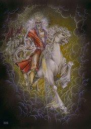 Declaramos que El Viene con Poder y Gloria