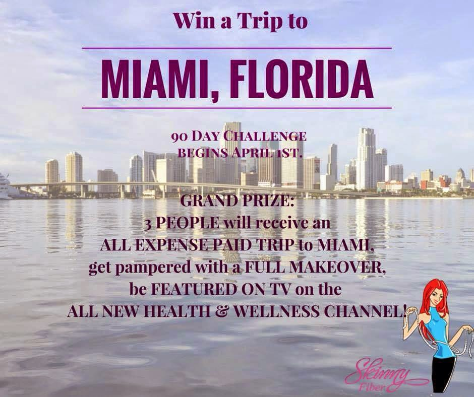 New Skinny Fiber Weight Loss Challenge Prizes