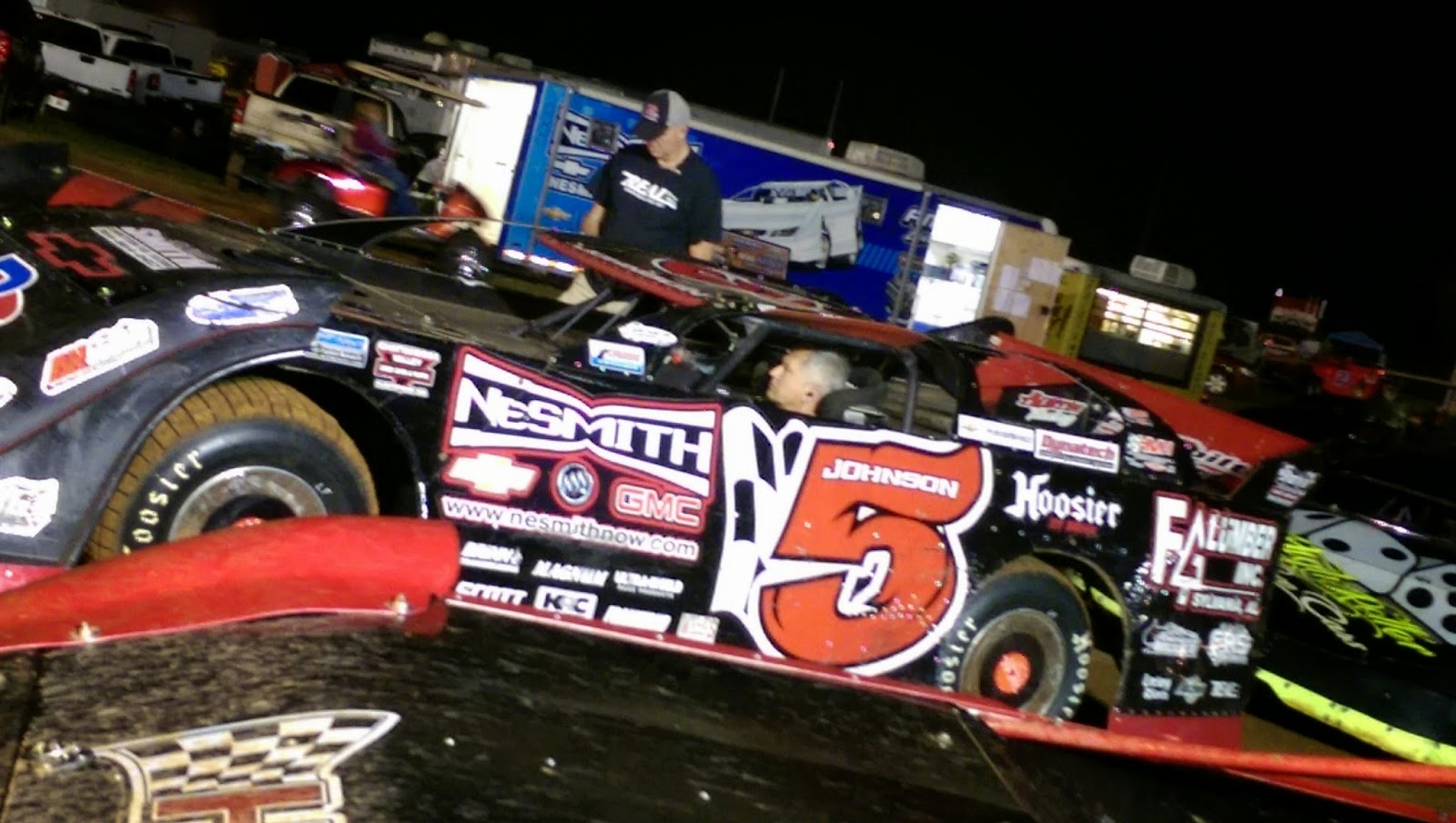 National Dirt Late Model Hall of Fame Member and NeSmith Reigning Champion, Ronnie Johnson