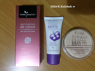 Watsons, Pure Beauty, BB Cream, Rimmel London, Primer, Stay Matte, Pudra