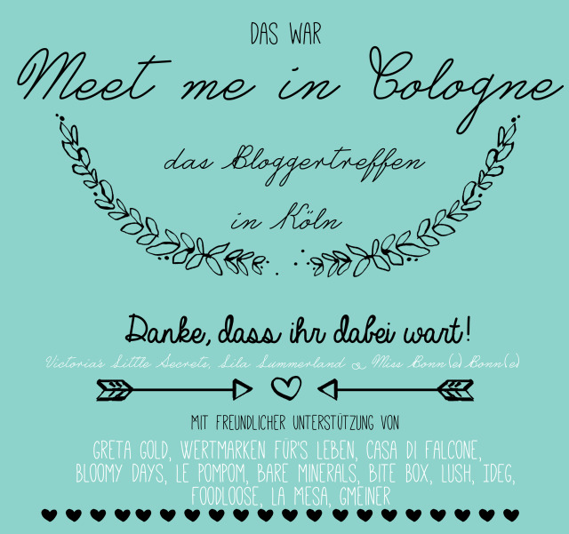 meet me in cologne so war das bloggertreffen in k ln victoria 39 s little secrets. Black Bedroom Furniture Sets. Home Design Ideas