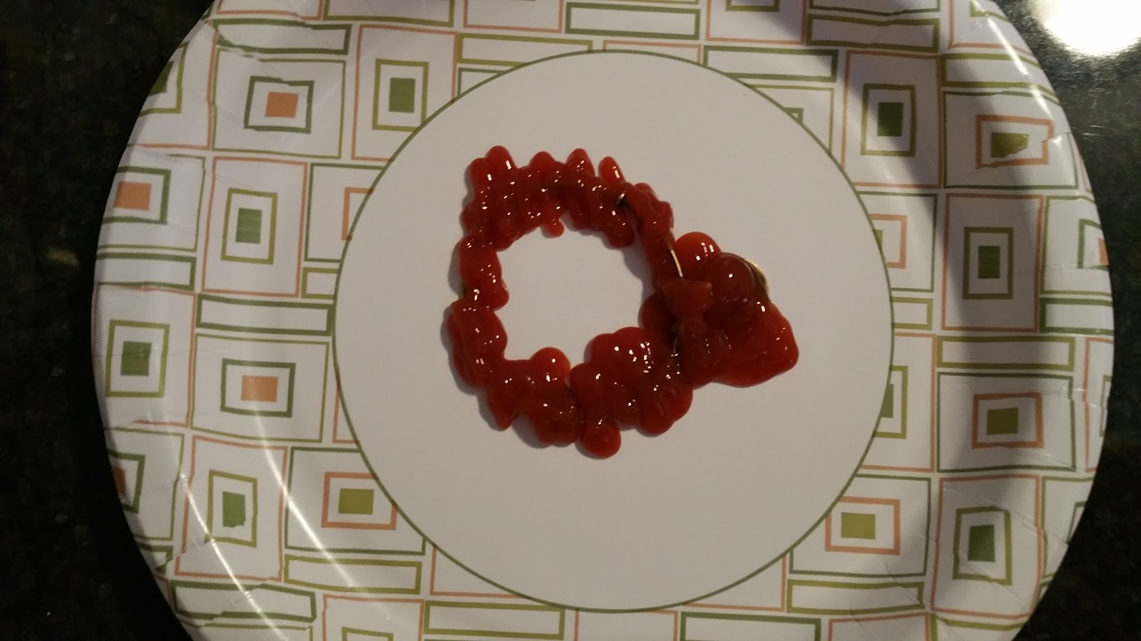 Cover In Ketchup And Let Sit For 5 Minutes
