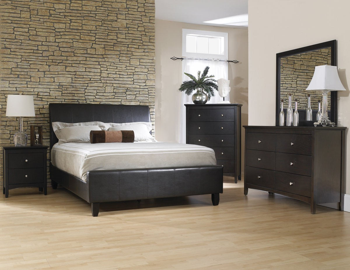 Sleigh bedroom sets article villa for 3 bedroom set