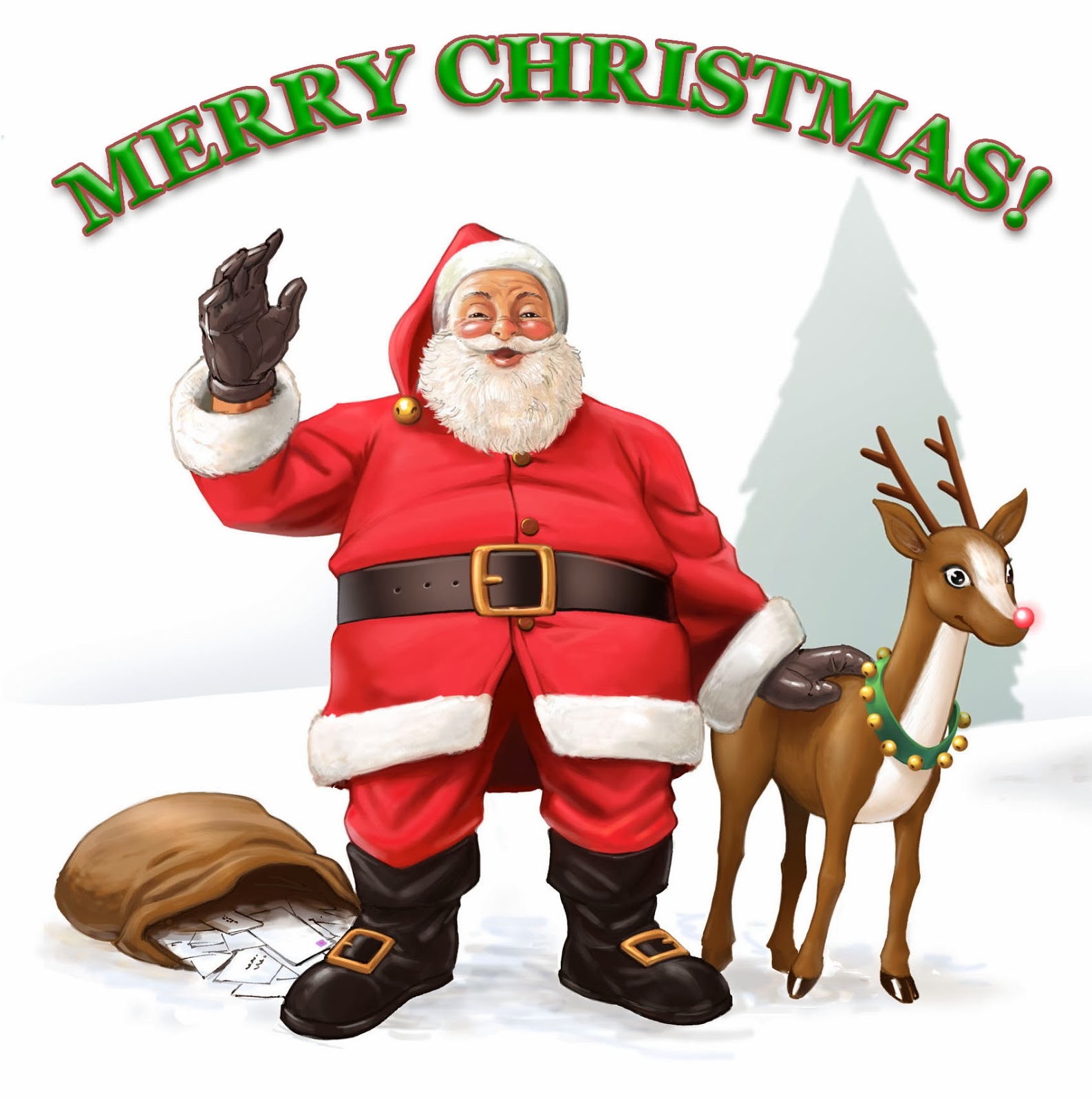 merry christmas images with santa top10 wallpapers 4u christmas wallpapers