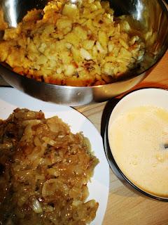 ingredientes-tortilla patatas cebolla