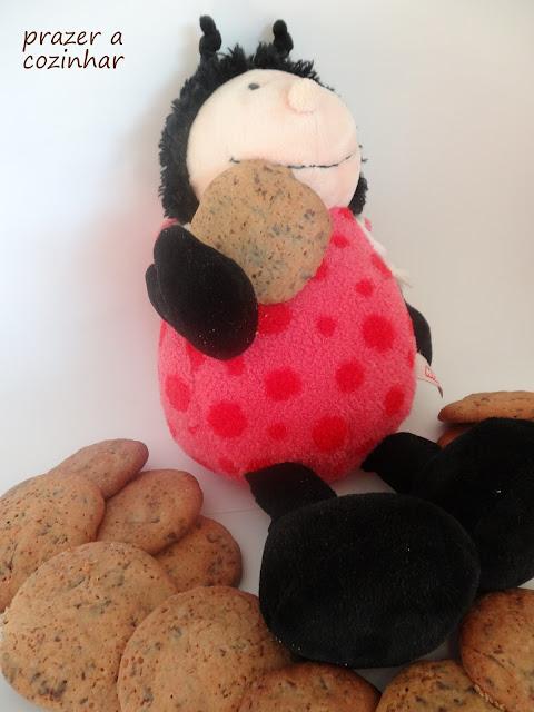 prazer a cozinhar - cookies com pepitas de chocolate