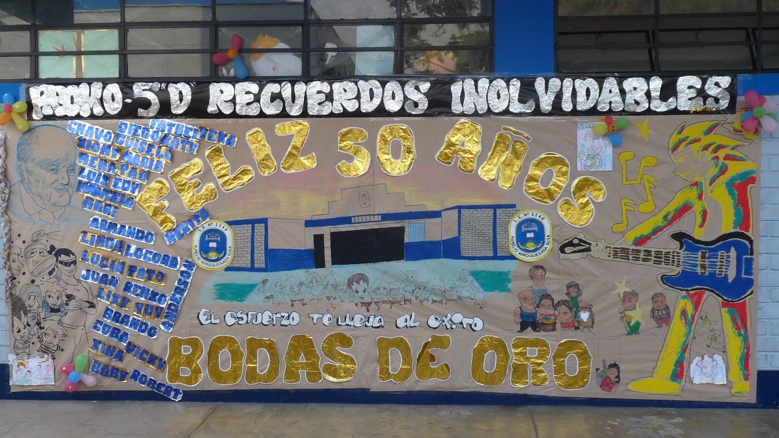 Periodico mural dedicado al colegio periodico mural por for El periodico mural