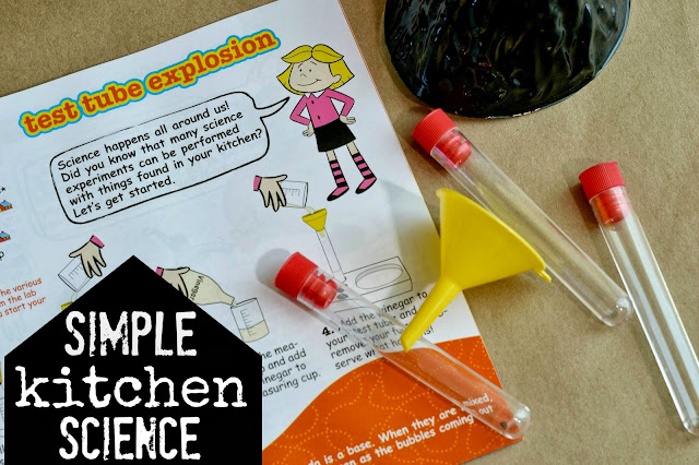 easy kitchen science, simple kitchen science, young scientists club, preschool science, preschool science kit, Clifford kitchen science kit review, Young Scientists club review