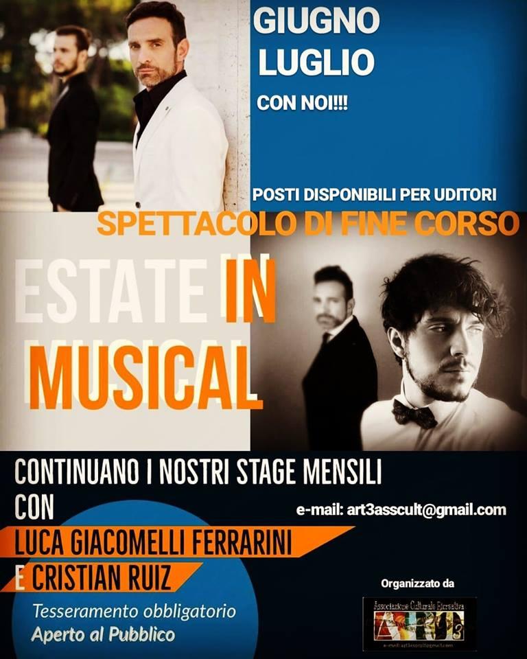 ESTATE IN MUSICAL CON LUCA GIACOMELLI FERRARINI E CRISTIAN RUIZ