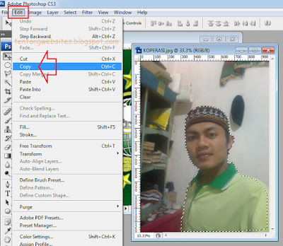 Cara ganti beground photo dengan photoshop