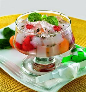 resep es buah selasih