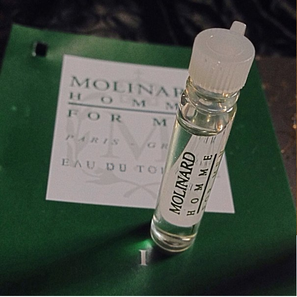 Échantillons du Parfum Molinard