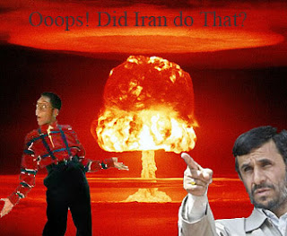 Nuclear explosion in Iran with Urkle