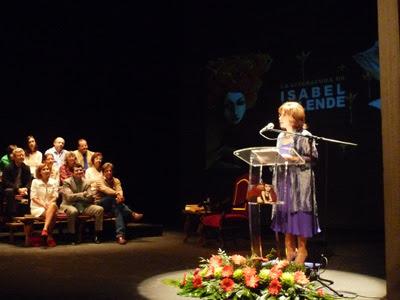 Isabel Allende, Mónica López Bordón, Alcalá de Henares