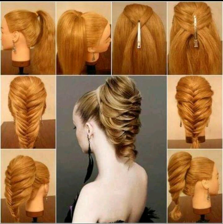 Как сделать прическу на длинные волосы с фото