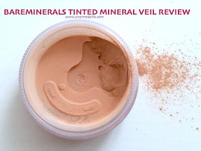 bareMinerals Tinted Mineral Veil paraben free