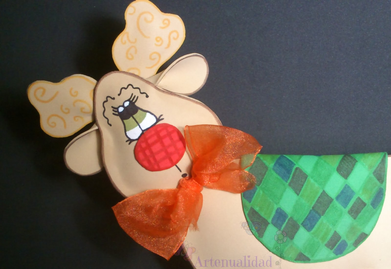 Al Baño Navidad Ha Llegado:Artenualidad: Ha llegado al blog la navidad: reno Rudolf
