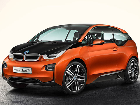2012 BMW i3 Coupe Concept car pictures. 480 x 360 pixels