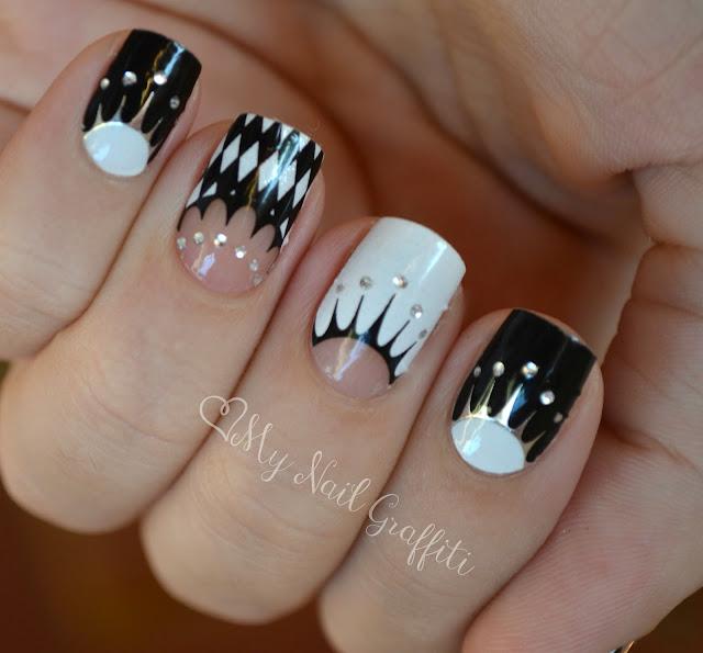 nail art semplici: Loreal and Project Runway The Artsy Muse Nail Decals