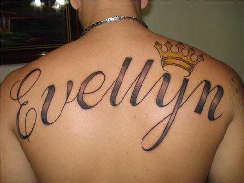 Tatuagem Evellyn