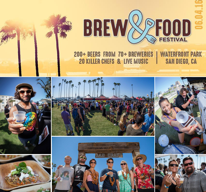 Save On Passes & Enter To Win Tickets to the Brew & Food Festival - June 4